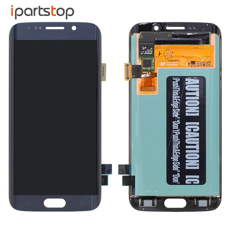 Original Genuine LCD Screen Display With Touch Digitizer Assembly For Samsung Galaxy S6 Edge G925 G925F G925A Blue White Gold factory price lcd screen for samsung galaxy s6 edge lcd display touch screen digitizer g925f g925s g925p g925a free shipping