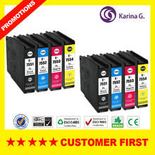 Compatible ink cartridge for Epson T7551 T7541 T7561 For EPSON Workforce Pro WF-8090DW 8090DWF 8510DWF 8010DW  8590DWF etc.