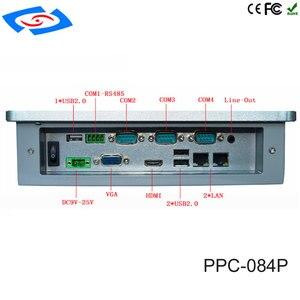 Image 2 - 低コスト 8.4 インチのタッチスクリーン産業用タブレット PC IP65 ファンレス設計と 800x600 解像度 3xUSB2 。ファクトリーオートメーションため 0