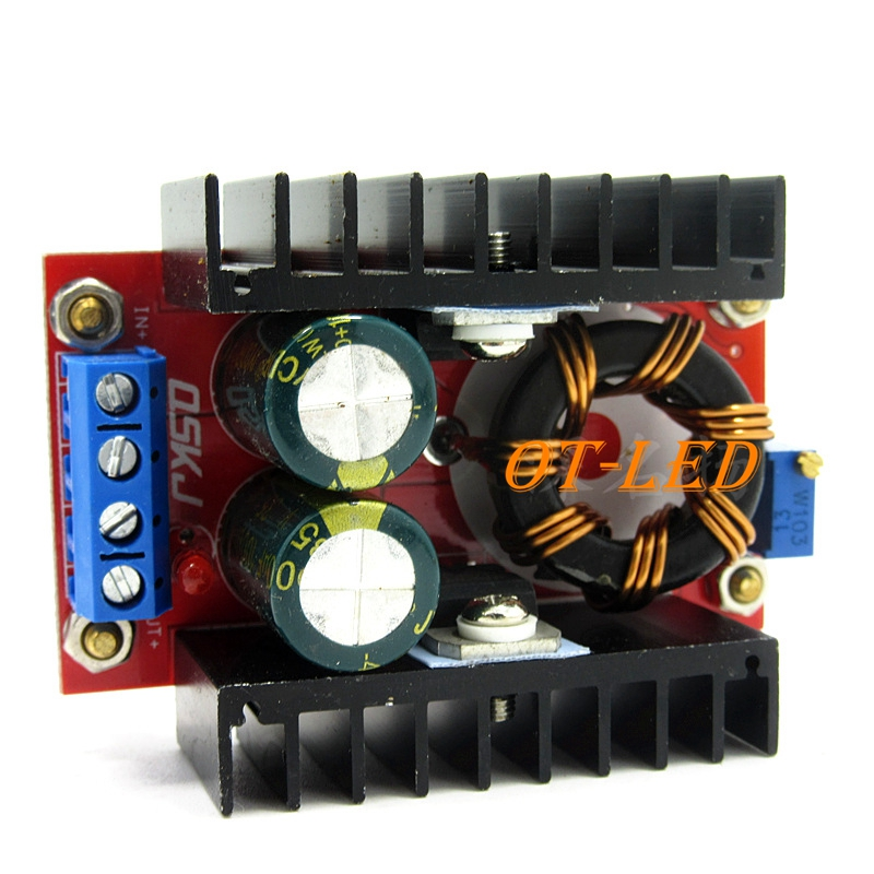 1pcs 150W Boost Converter DC-DC 10-32V To 12-35V Step Up Voltage Charger Module Freeshipping