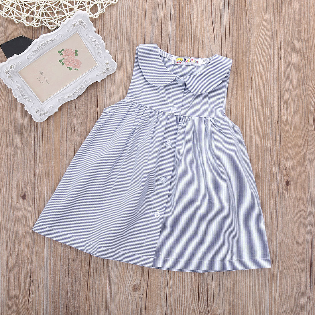 2016 New Chilren Dress top Baby Gap Toddler Girl Leopard Sleeveless Cotton  Dress Shirt Size 0 5Y-in Dresses from Mother   Kids on Aliexpress.com  334fd98902e3
