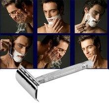 1Pcs Mens sharp veneer Hair Razor JunJie old style double Edge blade razor shaver Newest