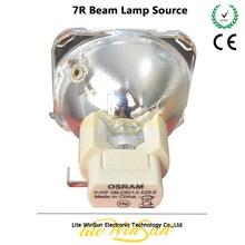 Litewinsune 1 шт. Бесплатная доставка 7R сценическое освещение лампа для резкого движущегося луча R7 230 Вт