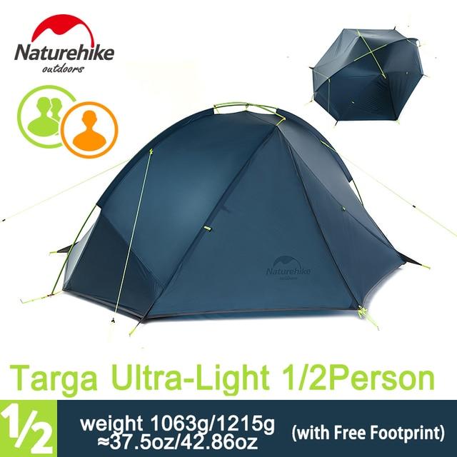 Naturehike 1-2 Person 3 Season C&ing Tent Single Skin Ulratlight Rainproof Backpacking Tent for  sc 1 st  AliExpress.com & Naturehike 1 2 Person 3 Season Camping Tent Single Skin Ulratlight ...