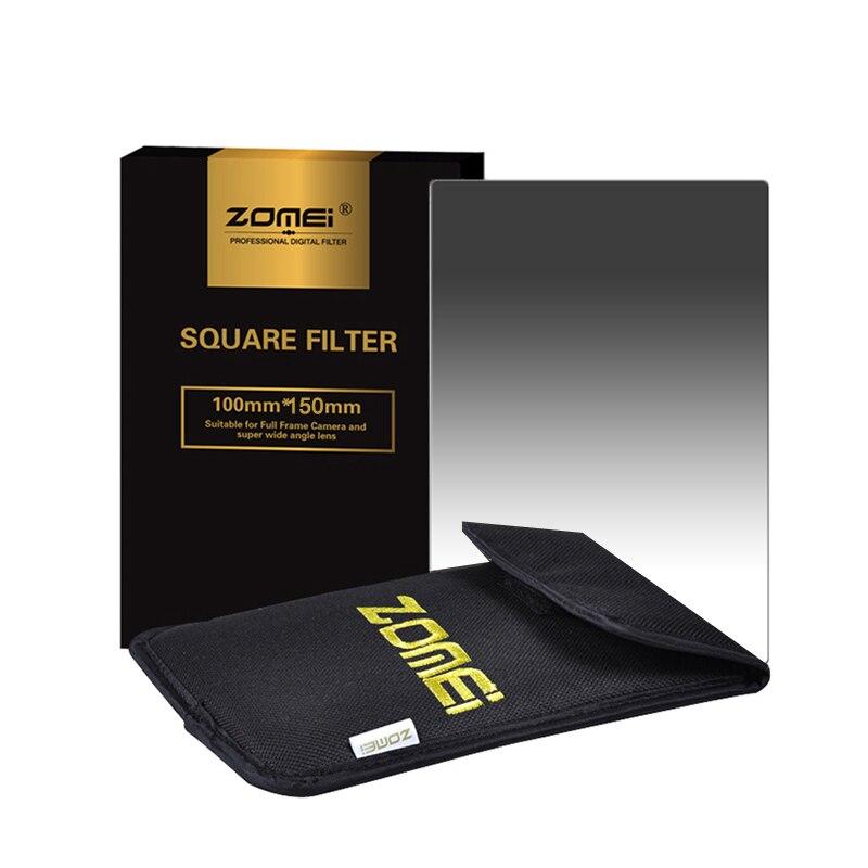 ZOMEI Square Gradual Filter GND2+4+8+16 Gradual Neutral Density Filter+Filter Holder+Bag+77mm Adapter Ring
