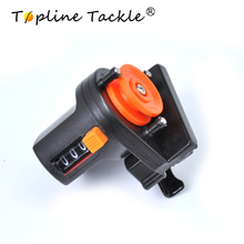 TopLine Tackle 1 piece New Portable Fishing Line Length Counter Fishing Line Depth Gauge Clip On Rod for Fishing