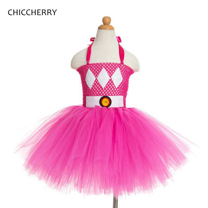 Pink Diamond Baby Girl Clothes Wonder Woman Toddler LaceTutu Dress Princess Birthday Outfits Robe Bebe Fille Kids Costumes
