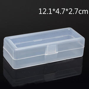 Case Transparent Dressing-Case Collections-Product Plastic-Box-Storage Mini Packaging-Box