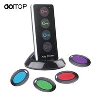 DOITOP Wireless RF Item Locator Key Finder Support Remote Control 4in1 Locator Anti Lost 4 Receivers