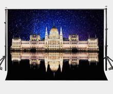 7x5ft Photography Backdrop Architectural Landscape European Castle Background Studio Props