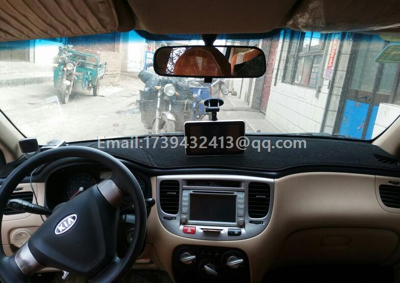 Автомобиль dashmats автомобиль-Стайлинг Аксессуары приборной панели крышки для KIA Новый Гордость Sephia Спорт Rio5 2005 2006 2007 2008 2009 2010 2011
