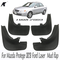 Автомобильные Брызговики для Mazda Protege 323 Ford Laser 1998-2003 Брызговики крыло брызговиков 1999 2000 2001 2002