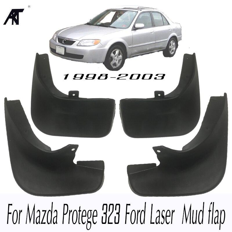 Auto Schlamm Flaps Für Mazda Protege 323 Ford Laser 1998-2003 Schmutzfänger Splash Guards Schlamm Klappe Kotflügel kotflügel 1999 2000 2001 2002
