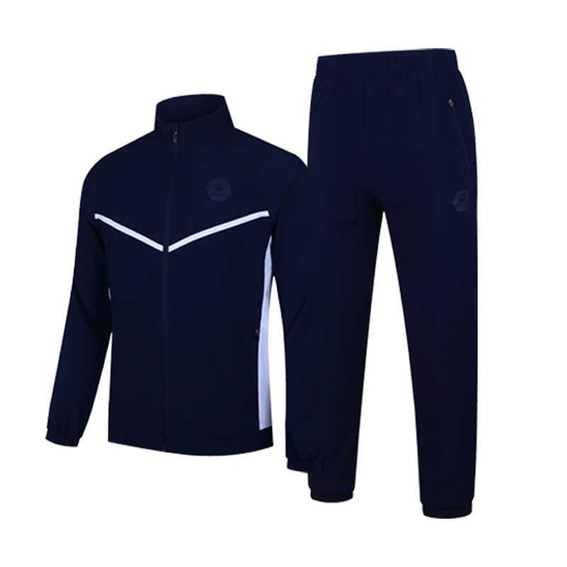 Kelme Lari Pria Jogging Olahraga Kebugaran Leisure Baju Olahraga Woven Hoodie Hangat Cocok 3981514