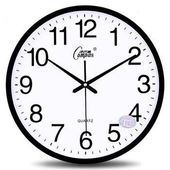 Wall Clock Modern Design Flower Pow Patrol Creative Watch Mechanism Silent Kitchen Digital Watch Relogio Parede Clocks WZH503