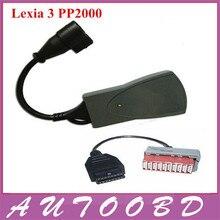Lexia 3 PP2000 Lexia3 V48 V25 Диагностический Инструмент Lexia-3 Сканер Automotivo Automotriz Diagbox V7.56 с PSA 30pin Кабель-Адаптер