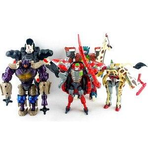 Трансформация Beast Wars, 17 см, Оптимус Primal, фигурка, модель, подарок на день рождения для детей, коллекционные игрушки, кукла