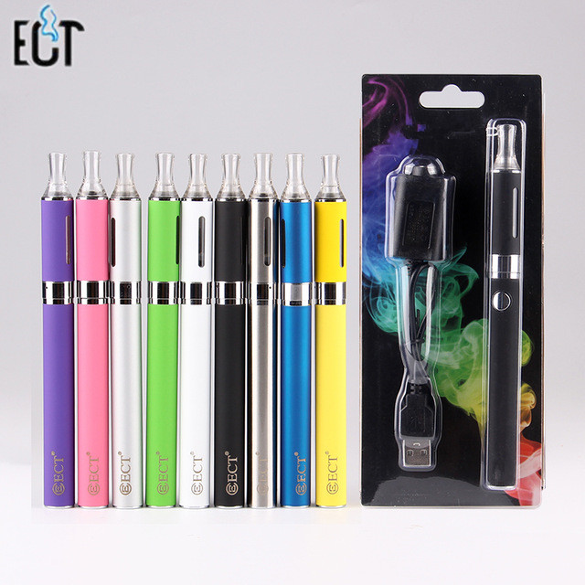 Blister Kit Electronic Cigarette MT3 atomizer 650mAh 900mAh 1100mAh Battery E Cigarettes 10 Colors ego vv 650mah 900mah 1100mah ce4 evod led battery
