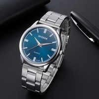 Relojes para hombre reloj de 2019 hombres de hombre de moda de cristal de acero inoxidable analógico de reloj de cuarzo часы мужские наручные reloj de los hombres