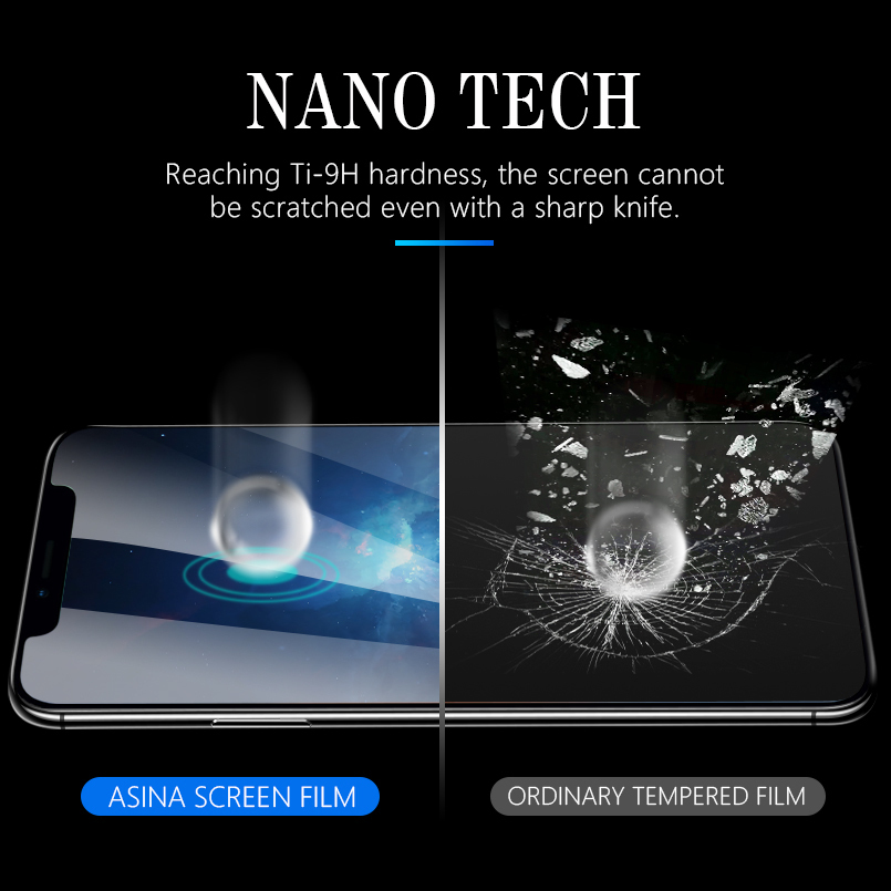 Full Cover Soft Hydrogel Film For iPhone 7 8 Plus X 10 Soft Screen Protector On The For iPhone 7 8 X Film Not Glass in Phone Screen Protectors from Cellphones Telecommunications