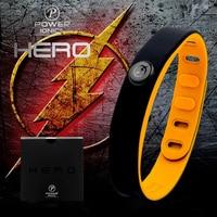 Hero Theflash Power Ionics 3000 Ions IDEA BAND Sports Titanium Bracelet Wristband Balance Human Body