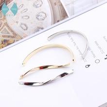 South Korea Diy jewelry accessories Earrings hanging pendant tassel stick material rotating semicircular bar цена