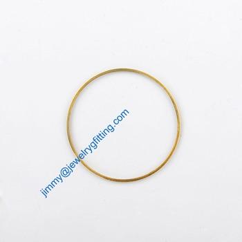 3000PCS Raw Brass Circle 30*1*0.5 copper Rings jewelry findings Conntctors Quoit