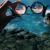 2017 Moda Retro Rodada óculos de Sol Homens Mulheres Designer Eyewear Caleidoscópio Caleidoscópio Festa oculos Óculos Óculos de Lente de Vidro Da Cor