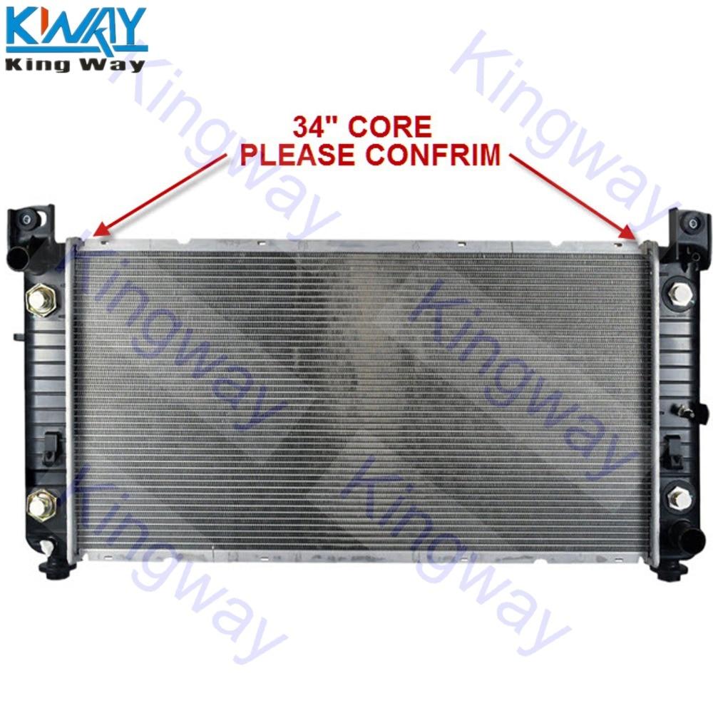 "3Row Aluminium Radiator Chevy Silverado GMC 1500 2500 HD Cadillac Escalade 34/""C"