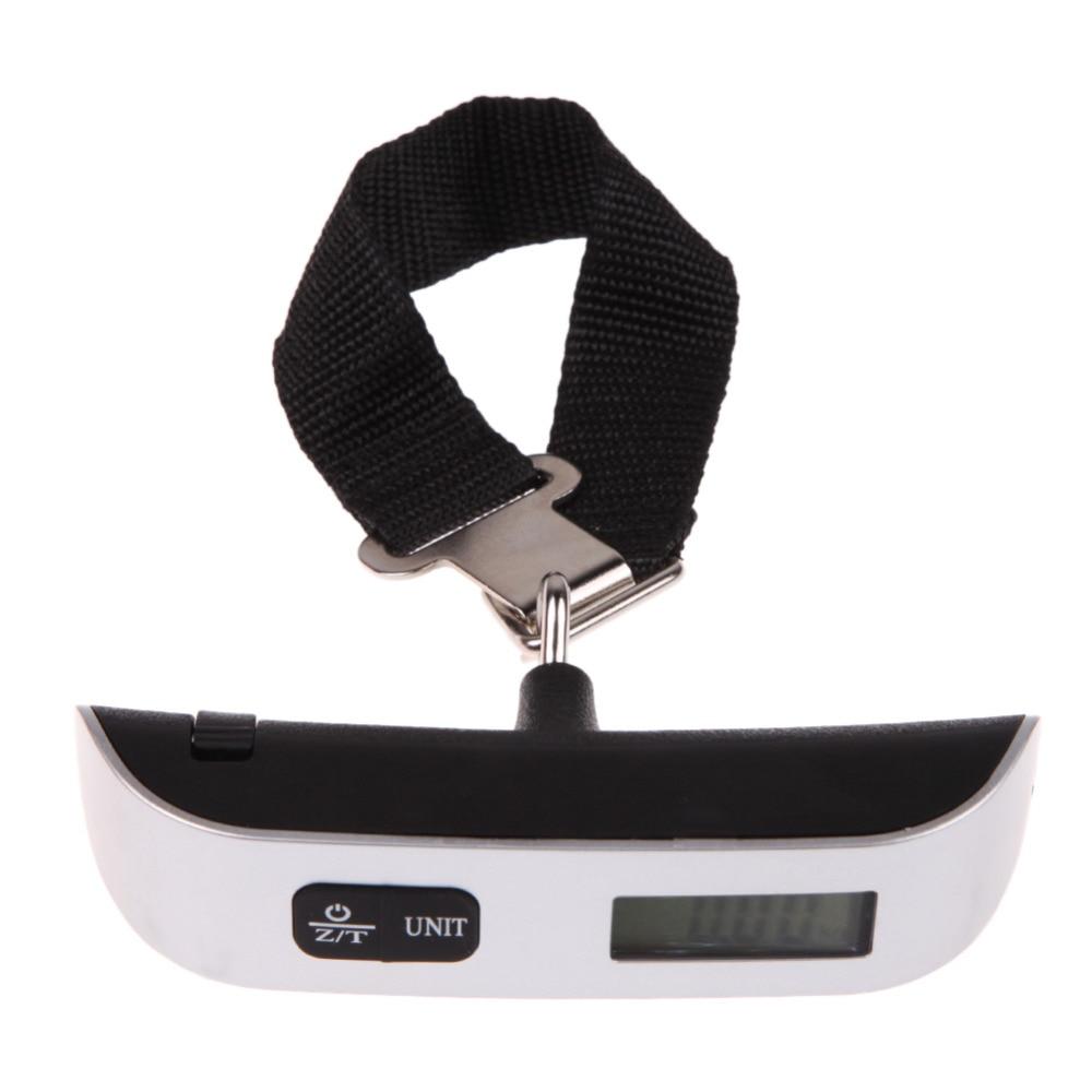 50kg / 110lb skaitmeninis elektroninis lagaminų svarstyklių - Matavimo prietaisai - Nuotrauka 4