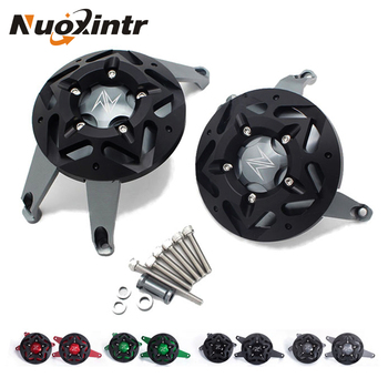 Nuoxintr CNC Aluminum Motorcycle Engine Guard Side Stator Case Guard Protector For KAWASAKI Z900 Z 900 2017 2018