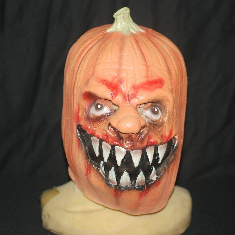 Máscara de esqueleto de calabaza Juguetes de Halloween Sombrero de - Para fiestas y celebraciones - foto 1