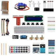 Best Buy Raspberry Pi 3 Starter Kit Ultimate Learning Suite 1602 LCD SG90 Servo LED Relay Resistors for Raspberry Pi