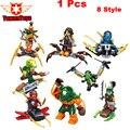 1 Шт. Новый Ninja Cyren Дублон Nadakhan Clancee Бутько Блоки мини-Малыш подарки Игрушки SY613 Совместимость с es