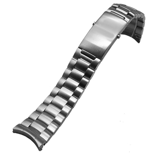 Image 5 - MERJUST AAA Quality 316L 20mm 22mm Silver Stainless steel Watch Bands Strap For omega seamaster speedmaster planet ocean Belt