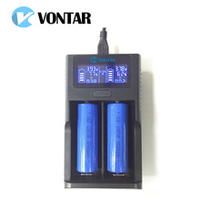 Smart LCD Battery Charger Smart USB Charger for 26650 18650 18500 18350 17670 16340 14500 10440 lithium battery 3.7V pk um20