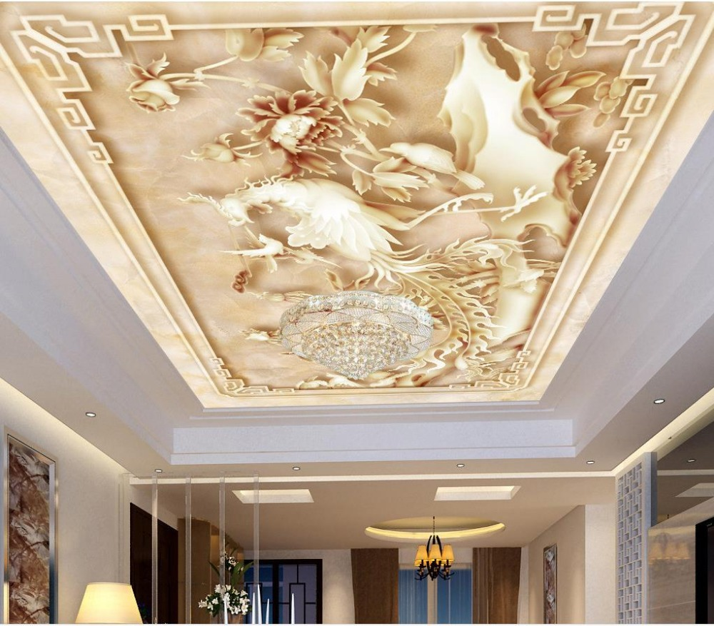 Online Buy Wholesale Ceiling Murals Wallpaper From China