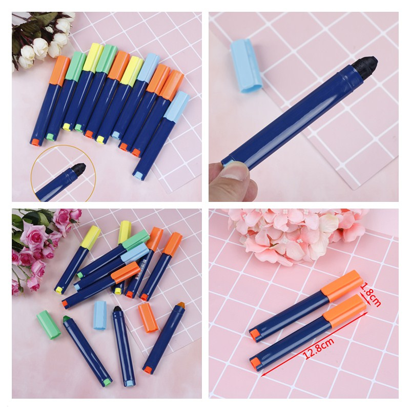 Office & School Supplies Pens, Pencils & Writing Supplies Expressive Peerless Cute Gel Solid Highlighter Smooth Writing Pen Fluorescent Trend Twist Up Pen Office School Stationery 12.5*1.8cm Latest Technology