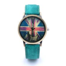 Unisex Watch Cross Pattern Lovers Bracelet Watches