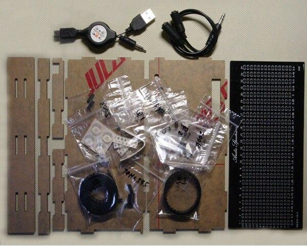 TOP-Quality-DIY-AS1424-Music-Spectrum-LED-Flashing-Kit-TOP-Audio-Spectrum (3)