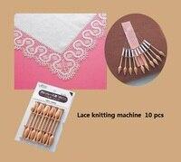 (57 812) Clover Hand Tools Line shuttle Tats Bobbins (set) 10 root Lace knitting machine
