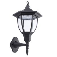 NEW Safurance 6 Sided Outdoor Wall Lantern Exterior Light Fixture Motion Sensor Garden Lamps Building Automation