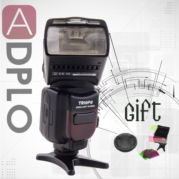 Buy 1 get 2 gift !TRIOPO TR-586EX Wireless Flash Mode TTL Speedlite Suit  For Nikon Camera as YN-565EX цены онлайн