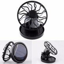 Мини-вентиляторы stand clip-on кулер рыбалки энергии солнечной вентилятор отдых путешествия портативный