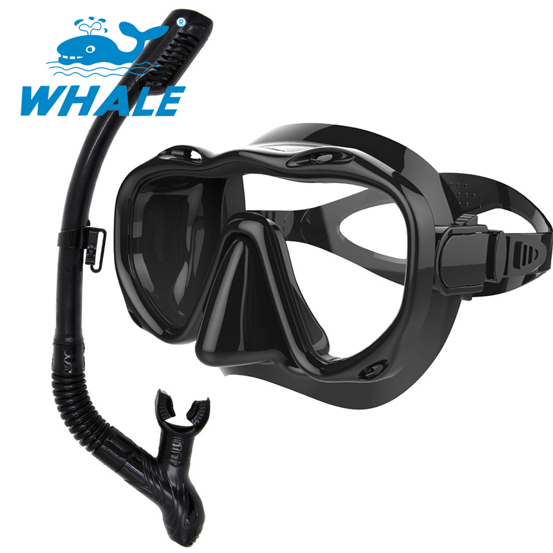 717c79311e18 Professional Water Sports Diving Mask for Scuba Gear Swimming Diving  goggles snorkel set
