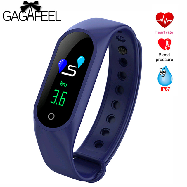 Gagafeel M3 Smart Bracelet for women men Pedometer Heart Rate Sleep Monitor Sport Smart Watch fitness Tracker For IOS Android