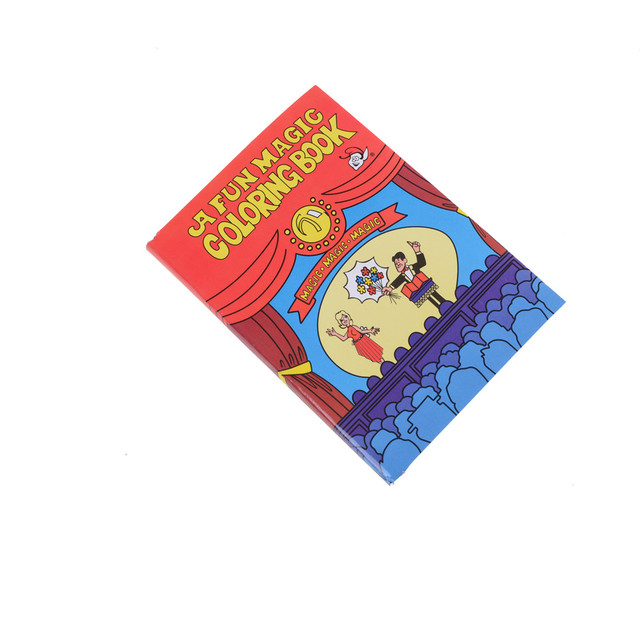 Magic Coloring Book Magic Tricks Best For Children Stage Magic Toy ...