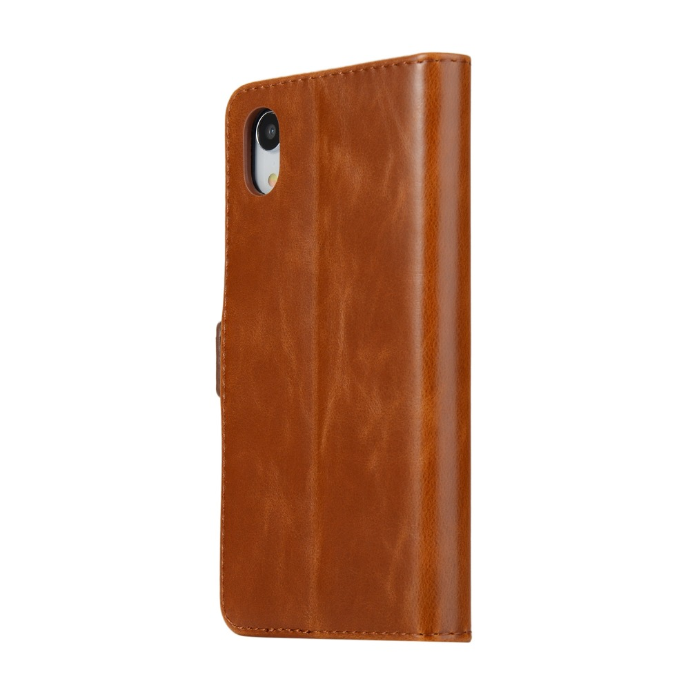 XS XR Flip Leather <font><b>Case</b></font> for iPhone XS 10S Max XR X 8 7 6 6s Plus <font><b>Case</b></font> <font><b>Card</b></font> Slot Magnetic Buckle Cover for <font><b>iPhoneX</b></font> X R S Fundas image