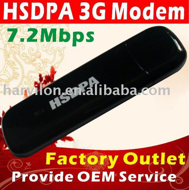 Dependable Performance GSM USB 3G HSDPA Data Card