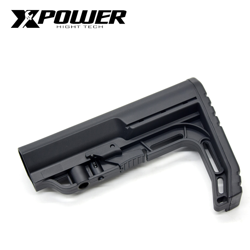 XPOWER MFT Battlelink Minimalist Stock For Airsoft AEG Accessories Paintball CS Sports Gel Blaster